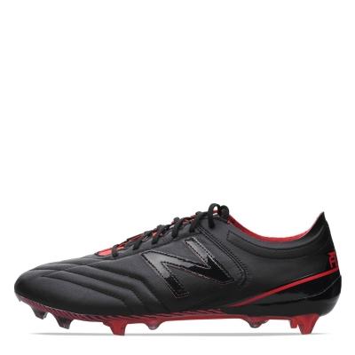 Ghete de fotbal New Balance Furon 3.0 K din piele FG negru rosu