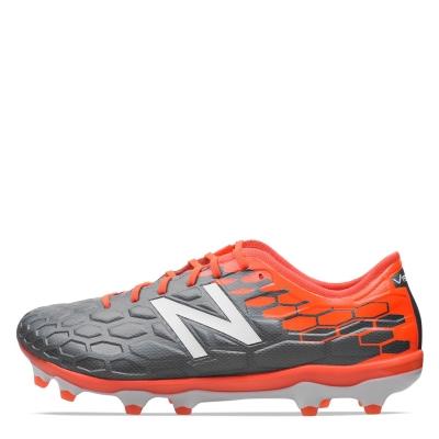 Ghete de fotbal New Balance Visaro Pro FG gri portocaliu