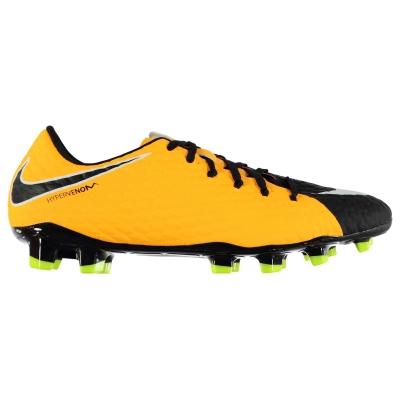 Ghete de fotbal Nike Hypervenom Phelon FG pentru Barbati portocaliu negru