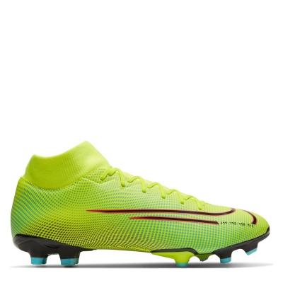 Ghete de fotbal Nike Mercurial Superfly Academy DF FG galben negru