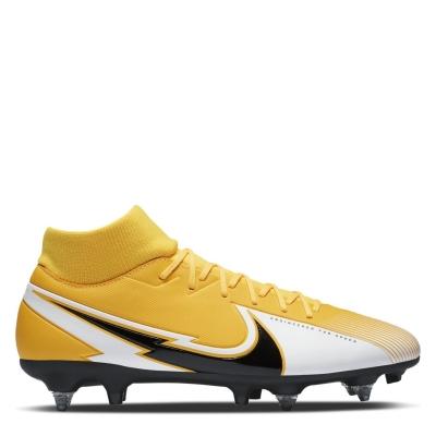 Ghete de fotbal Nike Mercurial Superfly Academy DF SG laser portocaliu