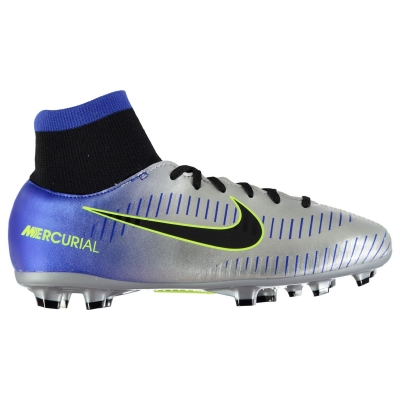 Ghete de fotbal Nike Mercurial Academy Neymar FG pentru copii