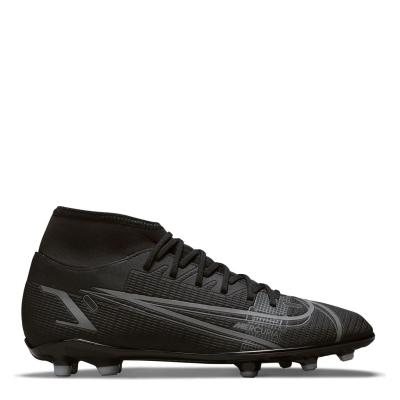 Ghete de fotbal Nike Mercurial Superfly Club DF FG negru irongrey