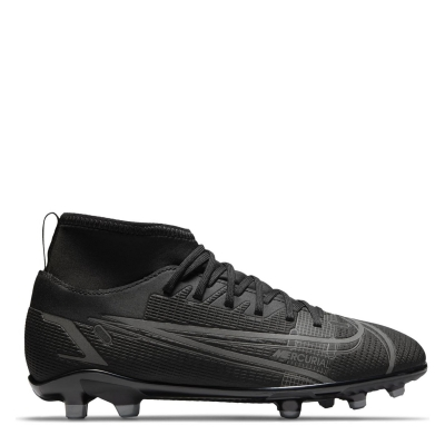 Ghete de fotbal Nike Mercurial Superfly Club DF FG pentru copii negru irongrey