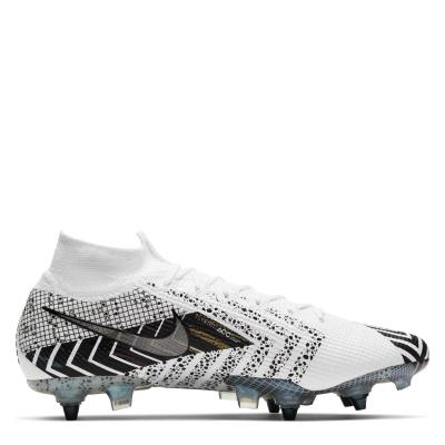 Ghete de fotbal Nike Mercurial Superfly Elite DF SG alb blackmds