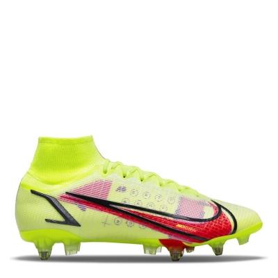 Ghete de fotbal Nike Mercurial Superfly Elite DF SG galben rosu inchis