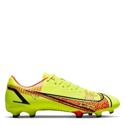 Ghete de fotbal Nike Mercurial Vapor Academy FG galben rosu inchis