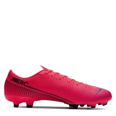 Ghete de fotbal Nike Mercurial Vapor Academy FG rosu inchis negru