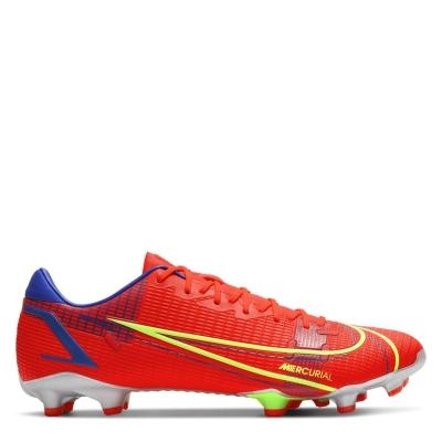 Ghete de fotbal Nike Mercurial Vapor Academy FG rosu inchis verde