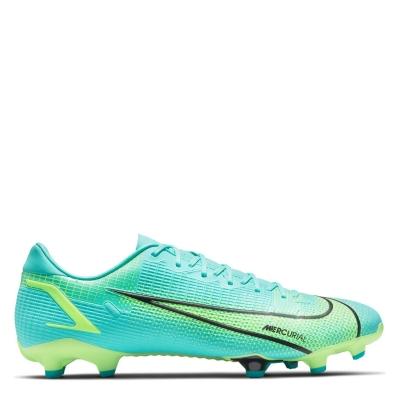 Ghete de fotbal Nike Mercurial Vapor Academy FG turcoaz verde lime