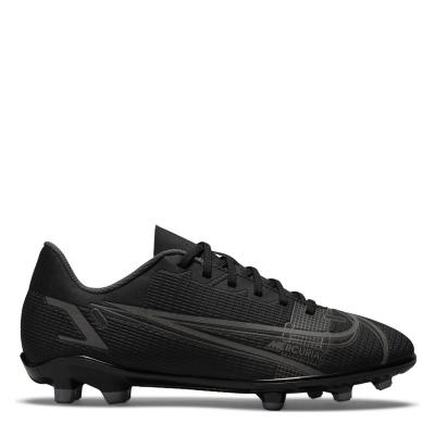 Ghete de fotbal Nike Mercurial Vapor Club FG pentru copii negru irongrey