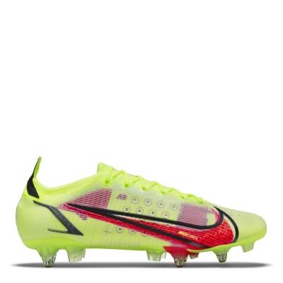 Ghete de fotbal Nike Mercurial Vapor Elite gazon sintetic galben rosu inchis