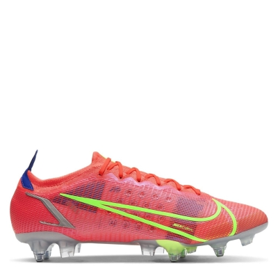 Ghete de fotbal Nike Mercurial Vapor Elite gazon sintetic rosu inchis verde