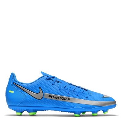 Ghete de fotbal Nike Phantom GT Club FG albastru verde