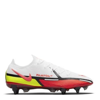 Ghete de fotbal Nike Phantom GT Elite SG alb rosu inchis