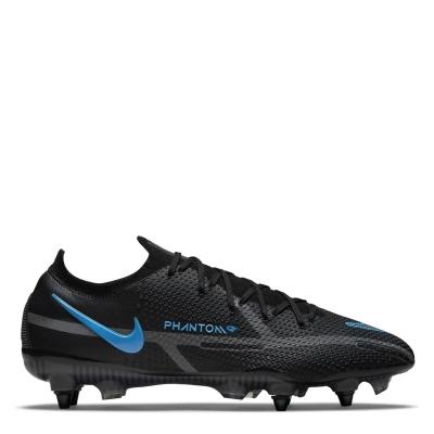 Ghete de fotbal Nike Phantom GT Elite SG negru univblue