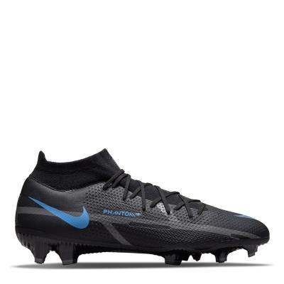 Ghete de fotbal Nike Phantom GT Pro DF FG negru univblue