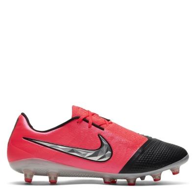 Ghete de fotbal Nike Phantom Venom Elite AG rosu inchis negru