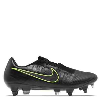 Ghete de fotbal Nike Phantom Venom Elite SG pentru Barbati negru galben