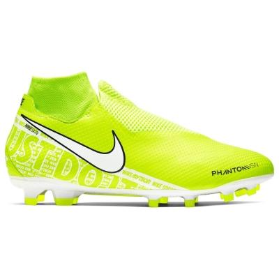 Ghete de fotbal Nike Phantom Vision Pro DF FG galben alb