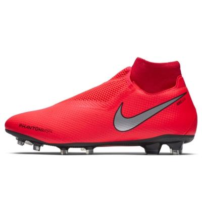 Ghete de fotbal Nike Phantom Vision Pro DF FG rosu inchis argintiu