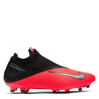 Ghete de fotbal Nike Phantom Vision Pro DF FG rosu inchis negru