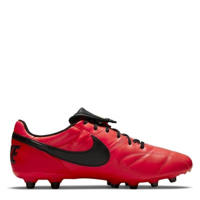 Ghete de fotbal Nike Premier II FG rosu inchis negru
