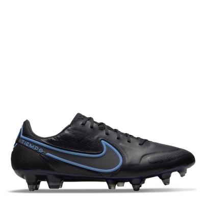 Ghete de fotbal Nike Tiempo Elite SG negru univblue