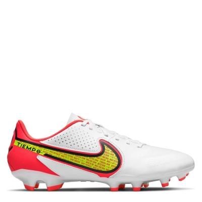 Ghete de fotbal Nike Tiempo Legend Academy FG alb galben
