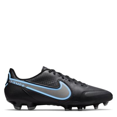 Ghete de fotbal Nike Tiempo Legend Academy FG negru univblue