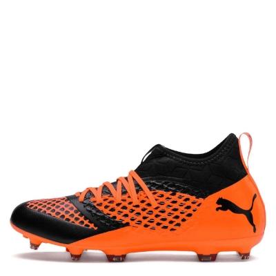 Ghete de fotbal Puma Future 2.3 FG pentru Barbati negru portocaliu