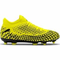Ghete de fotbal Puma Future 44 FG AG galben-negru 105696 03 pentru copii