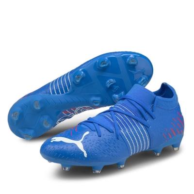 Ghete de fotbal Puma Future Z 3.1 FG bluemazing rosu