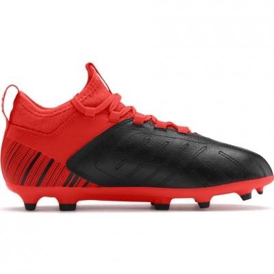 Ghete de fotbal Puma One 53 FG AG rosu negru 105657 01 pentru copii pentru femei