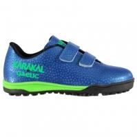 Ghete gazon sintetic fotbal Karakal Gaelic Astro Child albastru roial verde lime