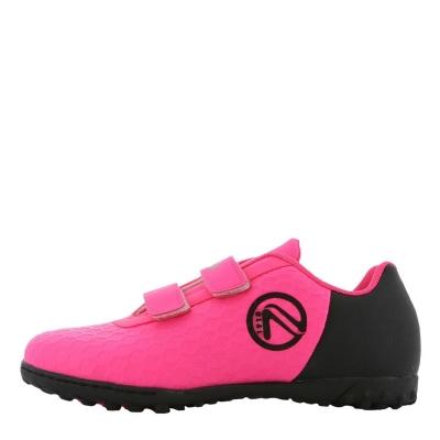 Ghete gazon sintetic fotbal ONeills Python Child Astro pentru fete roz negru