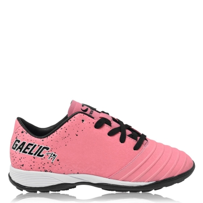 Ghete gazon sintetic fotbal Sondico Gaelic Astro Child roz negru alb