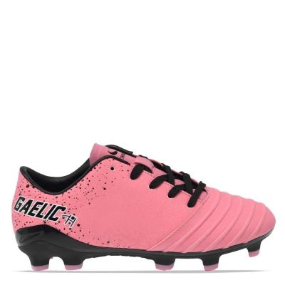 Ghete Ghete de fotbal Sondico Gaelic FG V Child roz negru alb