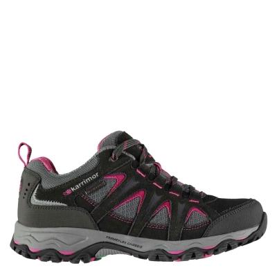 Ghete Karrimor Mount Low pentru Femei negru roz