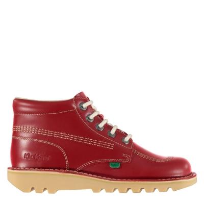 Ghete Kickers Kick Hi clasic rosu