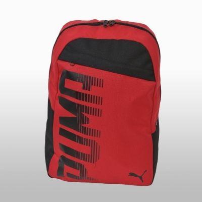 Rucsac rosu Puma Pioneer Backpack Unisex