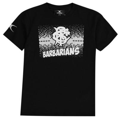 Tricou Gilbert Barbarians pentru baietei negru