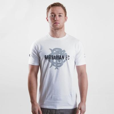 Tricou Gilbert BarbarianSS alb