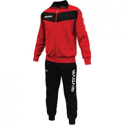 Trening sport Givova Visa rosu and negru barbati/baietei