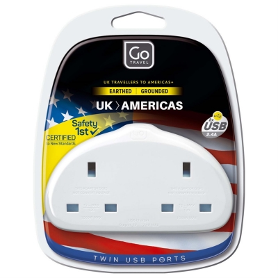 Go Travel GoTravel UK/US 2 Adapt 94 alb