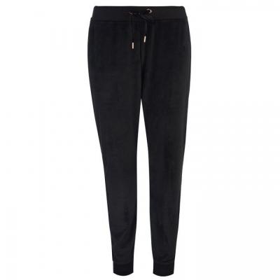 Pantaloni Sport Golddigga Velour pentru Femei negru
