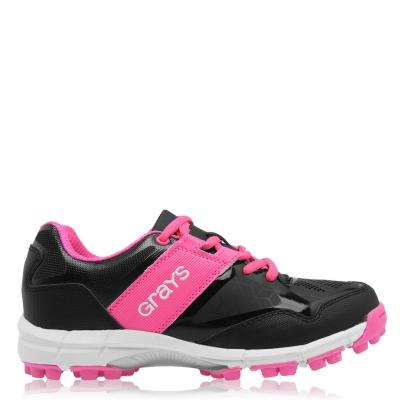 Adidasi hochei pe iarba Grays Flash pentru Femei negru roz