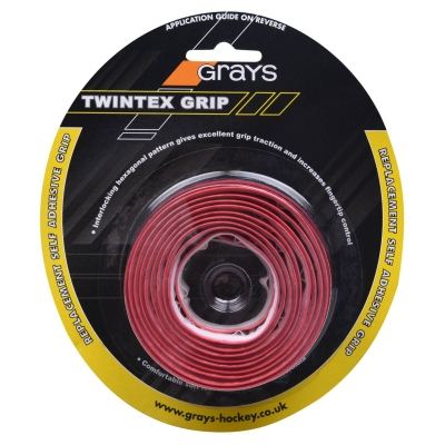 Grays Twintex Hockey Stick Grip rosu