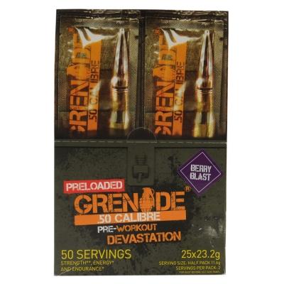 Grenade 50 Calibre Preload 24g Sachet roz inchis blast