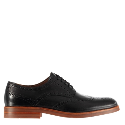 H By Hudson Ballete Brogues negru